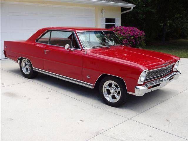 1966 Chevrolet Nova 66 Nova S S 327 350 L79 V8 4 Speed