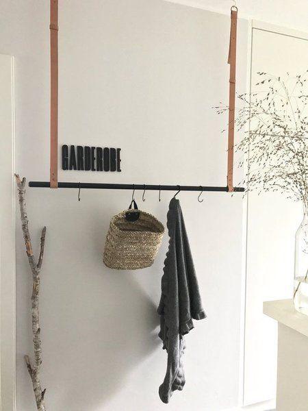 Die besten 25+ Kleiderstange selber bauen Ideen auf Pinterest - garderobe selber bauen schner wohnen