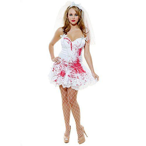 LA SPOSA CADAVERE...OTTIMO PER LA FESTA DI HALLOWEEN!!! Death Bride Costume - Large