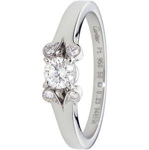 バレリーナ エンゲージメント リング - Cartier(カルティエ)の婚約指輪