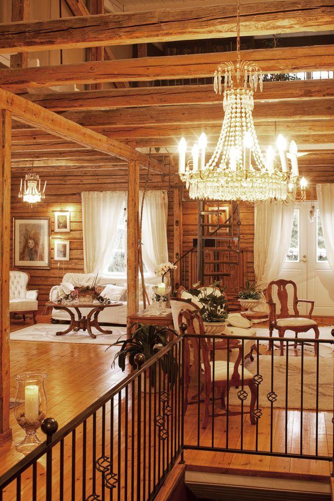 Luxurious home built in an old mill, Jalasjärvi, Finland. Photo: Katja Lösönen, www.katjalosonen.com www.facebook/katjalosonenphotography