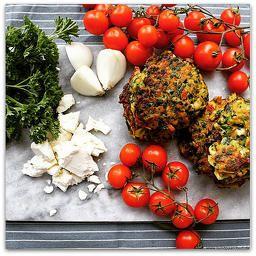 Opskrift på grøntsagsfrikadeller