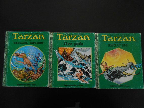 Edgar Rice Burroughs Tarzan Book Collection by UNBROKENPAST