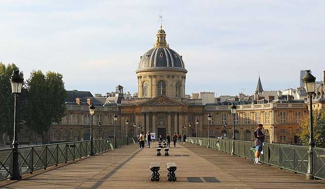 The Institut de France (English: French Institute) is a French learned society, grouping five académies, the most famous of which is the Académie française. ... Get more information about the Institut de France on Hostelman.com #attraction #France #landmark #travel #destinations #tips #packing #ideas #budget #trips