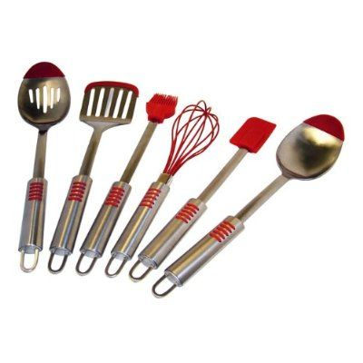 This Le Chef Deluxe Set Of Six Utensils Furnishes A Kitchen With The Durable Essentials All Tools In Are Made Attractive And Sy