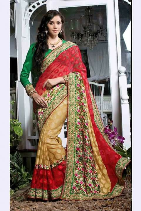 #designer #saree @  http://zohraa.com/red-net-saree-z1422p4444-7-e.html #designersarees #celebrity #zohraa #onlineshop #womensfashion #womenswear #bollywood #look #diva #party #shopping #online #beautiful #beauty #glam #shoppingonline #styles #stylish #model #fashionista #women #lifestyle #fashion #original #products #saynotoreplicas (Shipping : Your order will be shipped within 1 day from the date of purchase)