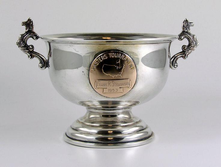 Frank Stranahan's 1953 Masters Tournament Low Amateur Trophy