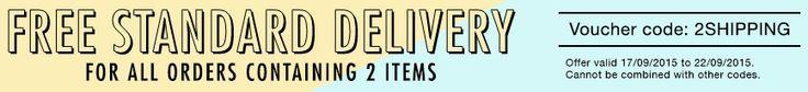 17-22 settembre 2015: spedizione gratis per tutti gli ordini di almeno due prodotti da Pensieri Vegani.