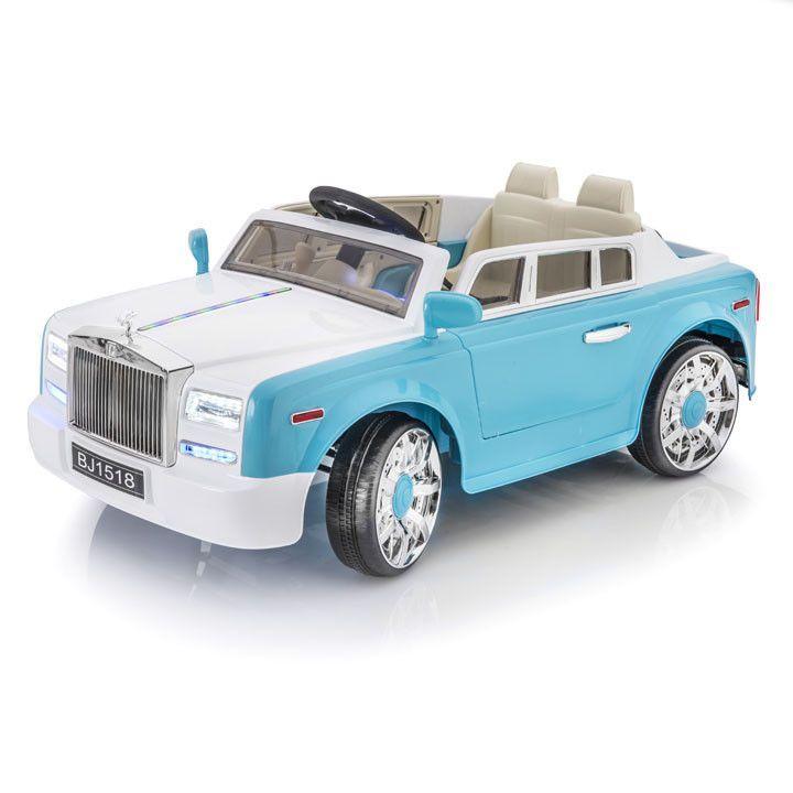 SPORTRAX ROLLS ROYCE STYLE PHANTOM 1 SEATER KIDS 12V RIDE-ON CAR | BLUE