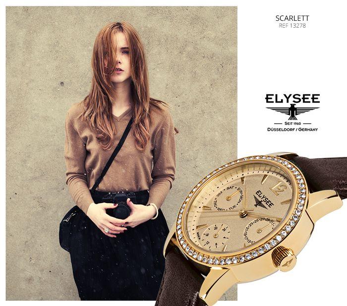 Zegarek Scarlett Elysee. Sprawdź, gdzie można kupić nasze zegarki: http://bit.ly/Sklepy_Elysee
