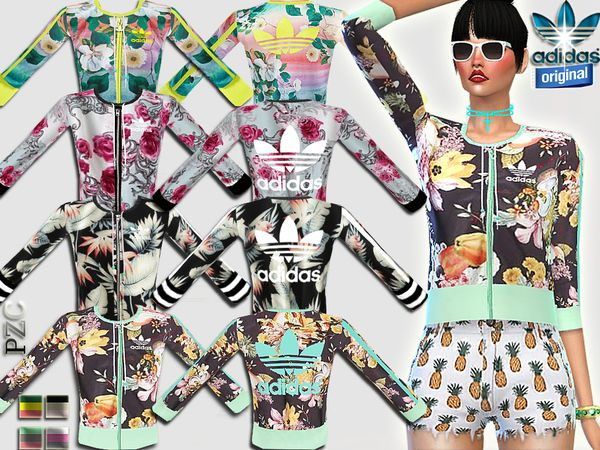 Pinkzombiecupcakes' Adidas Original Sports Set | Sims 4 Updates -♦- Sims Finds & Sims Must Haves -♦- Free Sims Downloads