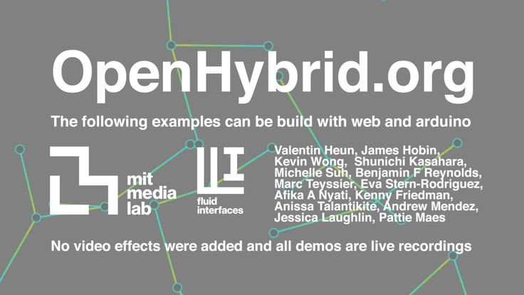 "MIT Media Lab Fluid Interfaces Group's ""Open Hybrid"" is a platform for interaction with everyday objects. It combines physical objects with the benefits of a flexible augmented user interface."