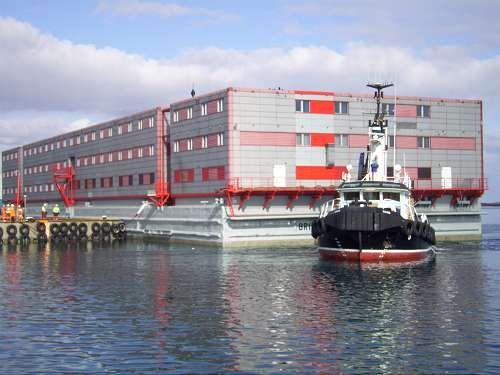 Flotel checks in at Morrison Dock | The Shetland Times Ltd