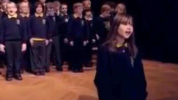 A 10-year-old autistic girl from Northern Ireland is stunning the world with her incredible singing voice. CBSN's Elaine Quijano has the sound from the amazing young artist.