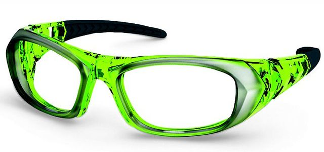 UVEX Prescription Safety Glasses RX sp 5507 Lime