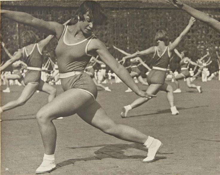 Alexander Rodchenko, Rhythmic Gymnastics, 1936