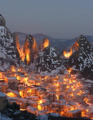castelmezzano potenza south italy~ Where my Nana was born