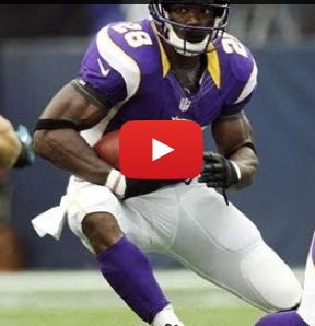 If you follow professional sports, you probably know Adrian Peterson. If you don't, he's an elite NFL running back, who tore his ACL and MCL on Christmas Eve 2011, and then promptly returned to win the MVP award the following season.