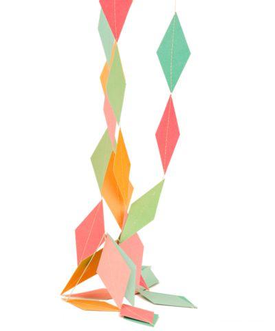 Harlekin Paper Garland, Small - 60 inches
