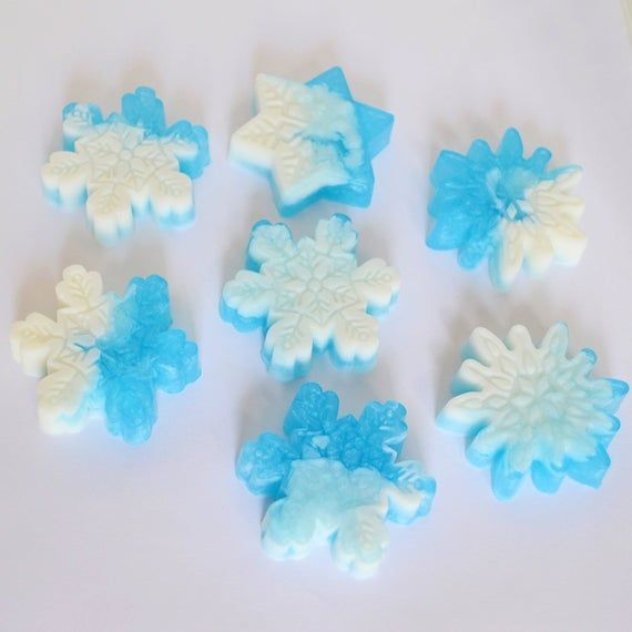 SNOWFLAKE SOAP FAVORS (100) Gefrorene Thema Party Favors, Winter Wonderland Baby …   – Products