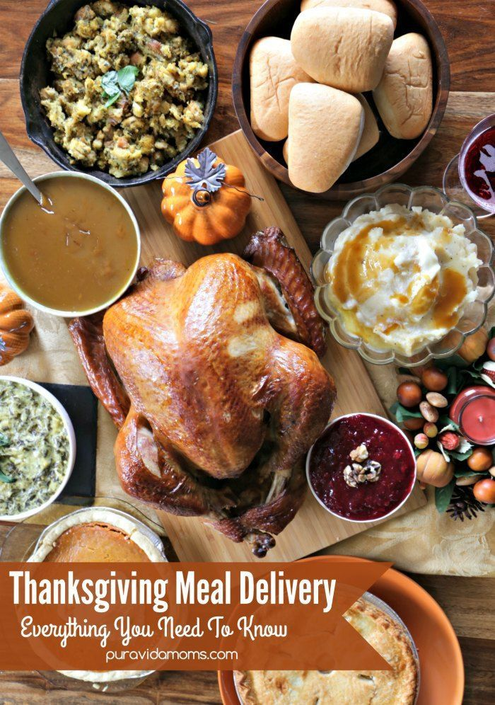 You can have a Boston Market Thanksgiving Home Delivery