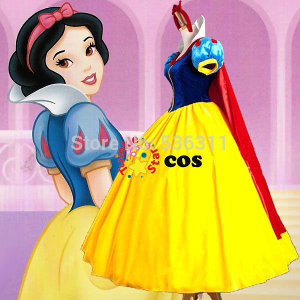 Snow White dress Aliexpress $60