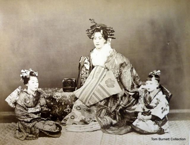"Ichida, Sota c.1870-75 ""Woman with Two Children"""