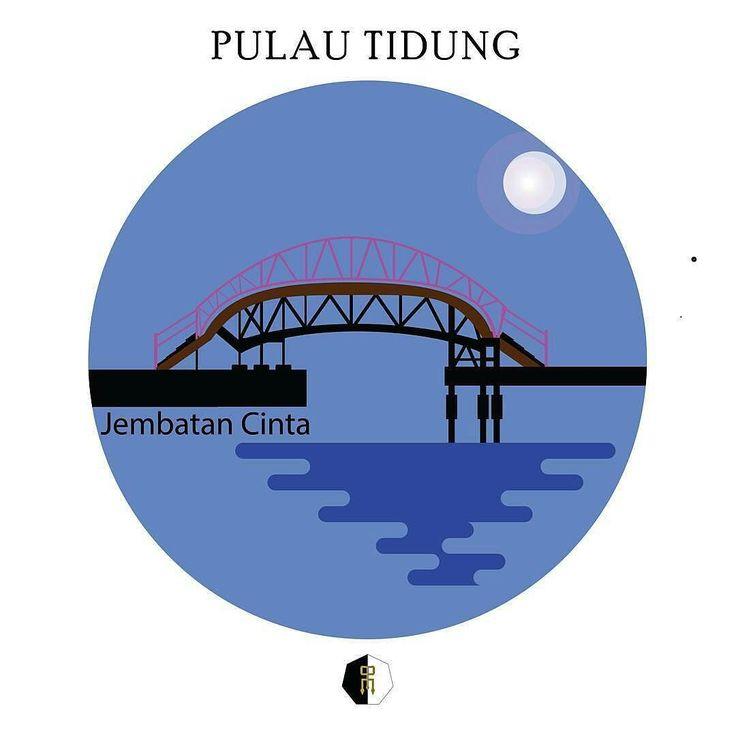 from @mustarulicious -  Jembatan Cinta Loc : Pulau Tidung - #regrann  #tidung #exploreseribu