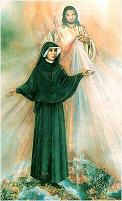 "Divine Mercy Novena: ""By this novena [of chaplets] I will grant every possible grace to souls"" (Diary, 796)."