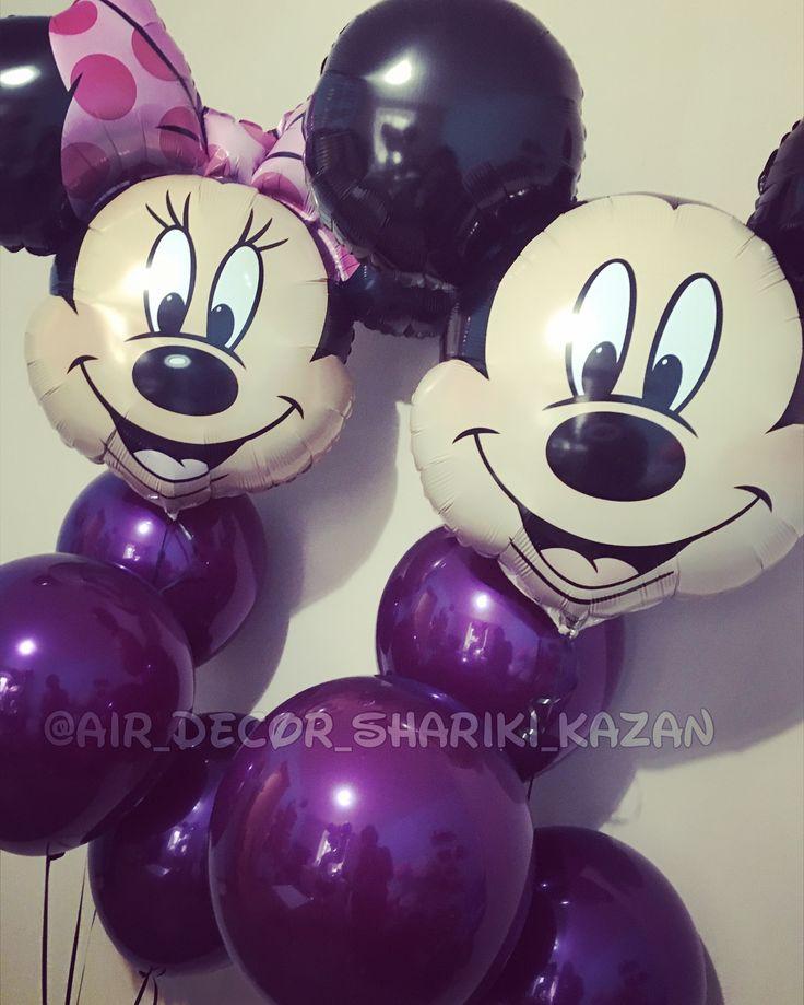 Mikkey Mouse balloon Шарики Микки Маус