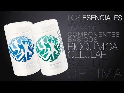 Los Esenciales™ de USANA®   Productos USANA [ESPAÑOL]   USANA MEXICO   COLOMBIA   SaludVerdadera.com - YouTube