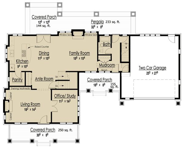 Plan 18240be storybook bungalow with bonus house plans for Icf homes pros and cons
