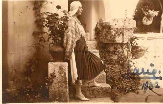BU-F-01073-1-00199 Regina Maria a României. Balcic., 1932 (niv.Document)