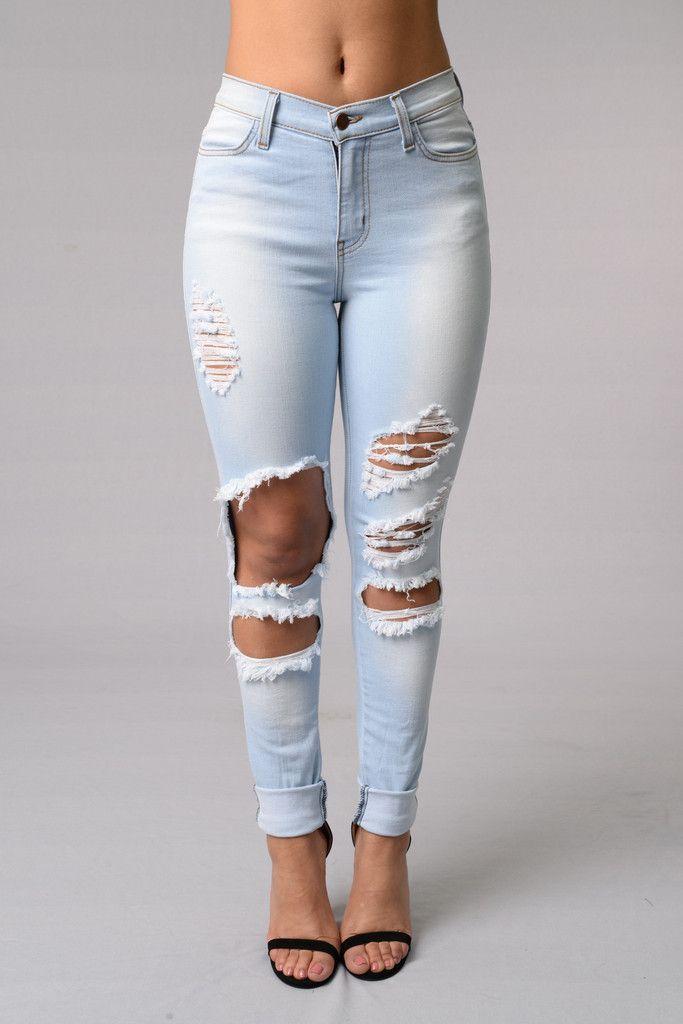 66faa637f72bc Beach Bum Jeans - Light Blue