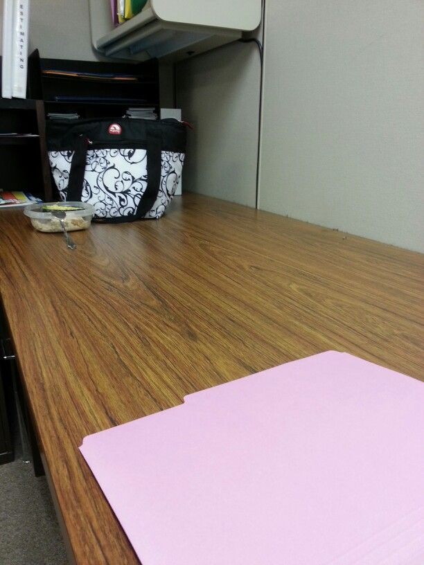 Place your lunch on the opposite side of your desk at work. You will ...