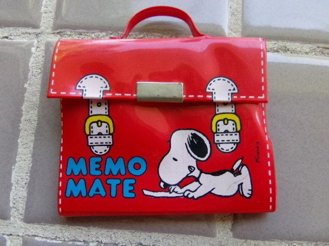 Vintage Snoopy Memo mate 1958 to 1965, like new condition, collectible snoopy, gift for him, gift for her, Peanuts Collectible by Morethebuckles on Etsy