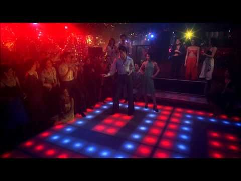 Love this video!! Saturday Night Fever (Bee Gees, You Should be Dancing) John Travolta HD 1080 with Lyrics