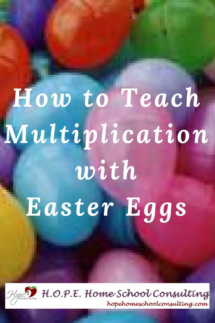 How to Teach Math with Easter Eggs. Use them as manipulatives when teaching addition, subtraction, place value, grouping, multiplication, and division.