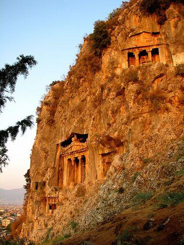 Amyntas Tombs at Fethiye #Amyntas #fethiye #travel