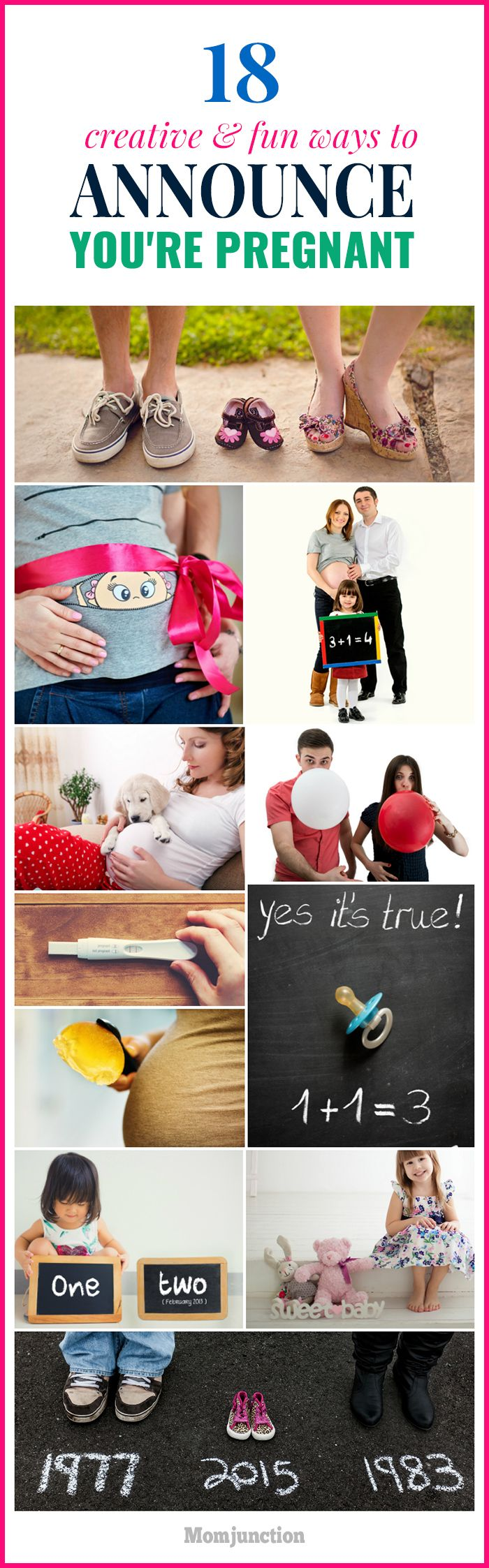 18 Most Creative & Fun Ways To Announce You're Pregnant