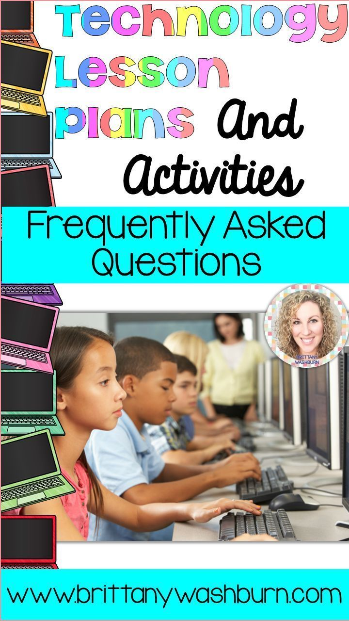 Have you been checking out my Technology Lesson Plans and Activities but you have some questions? Have you bought the resource but you're not sure where to start? This post holds the most frequently asked questions and answers.