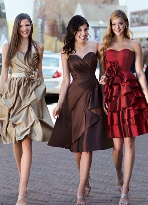 Impression Short Bridesmaid Dress 20043, 20042, 20048