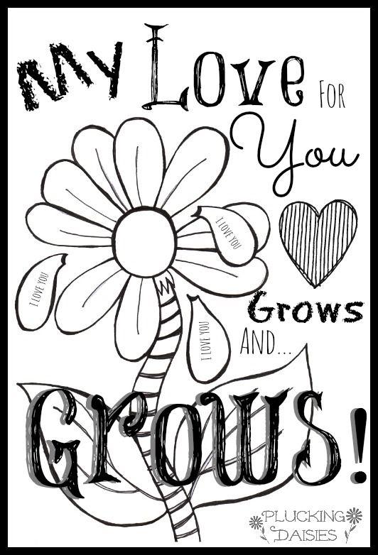 Love Printables For Kids Kids Card Printable And Photo