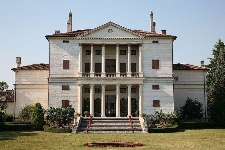 Andrea Palladio - Villa Cornaro - Facciata posteriore