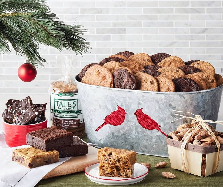 29 best gluten free images on pinterest box gluten free treats celebrate the holiday season with the gift of tates handcrafted gluten free treats like negle Image collections
