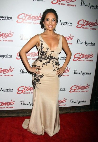 Cheryl Burke Photos: Celebs at the Miss America Judges Afterparty