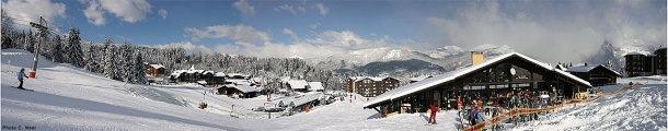 Morillon - Haute-Savoie - France - Morillon Grand Massif, vue des Esserts