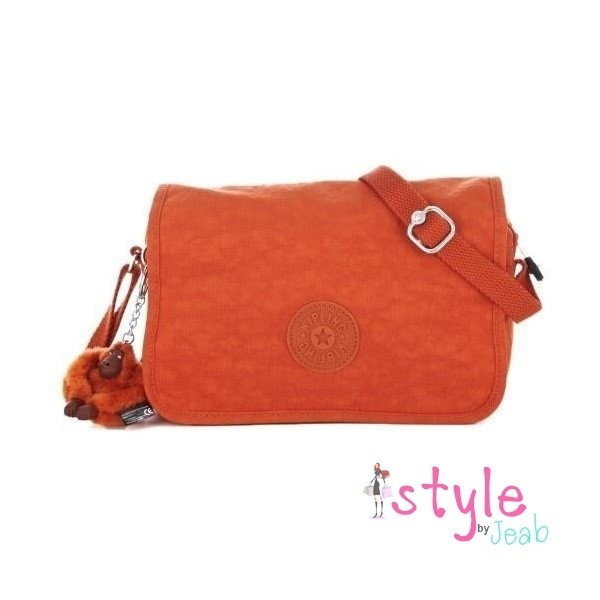 Kipling Delphine Crossbody Pumpkin Orange HB6310