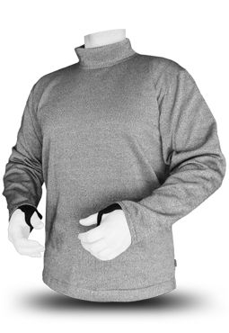 BitePRO™ Bite Resistant Turtleneck Sweatshirt with Thumbholes