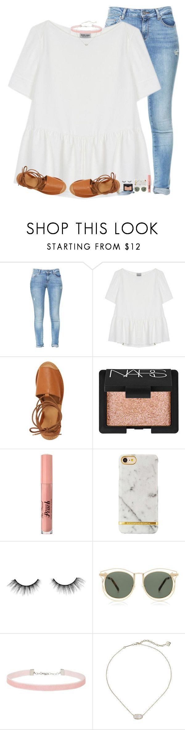 """comment any youtuber recommendations"" by hgw8503 ❤ liked on Polyvore featuring Zara, Rachel Comey, Topshop, NARS Cosmetics, Too Faced Cosmetics, tarte, Karen Walker, Miss Selfridge and Kendra Scott"